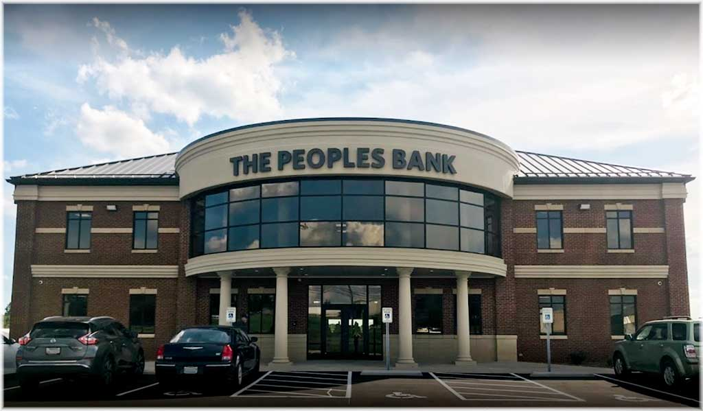 The Peoples Bank Frp Columns Factory Finished